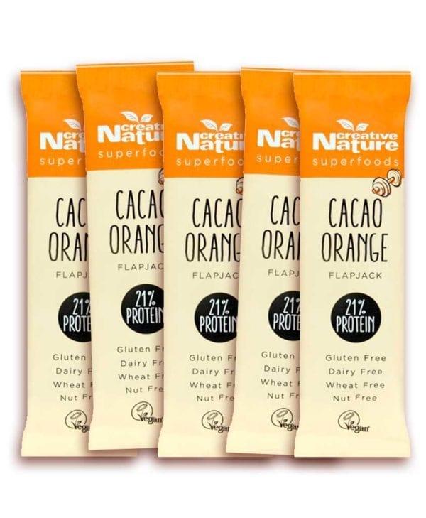 Creative Nature Cacao orange 5 stk snackbar