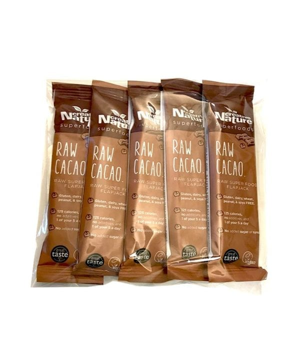 Creative Nature Raw Cacao 5 stk snackbar