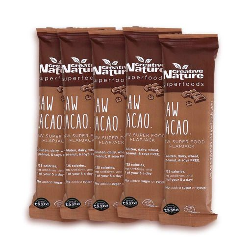 Creative Nature Raw Cacao 5 stk snackbar