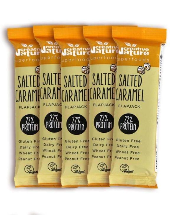Creative Nature Salted Caramel 5 stk snackbar