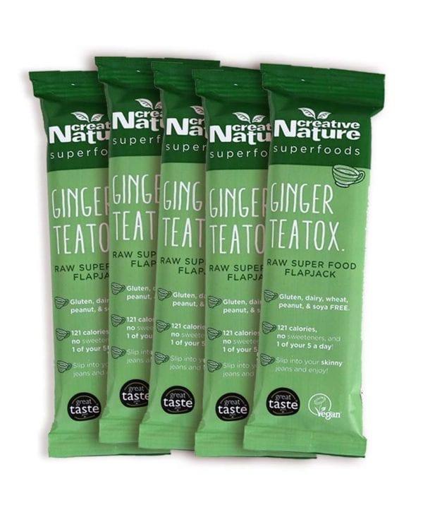 Creative nature ginger teatox 5 stk snackbar