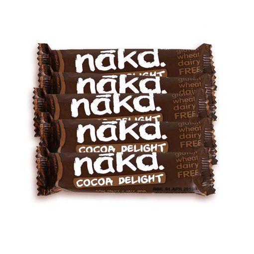 Nakd cocoa delight 5 stk