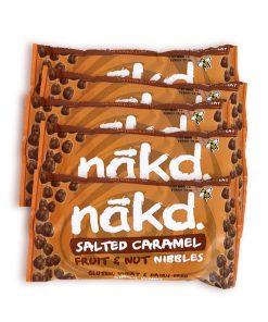 Nakd salted caramel fruit and nut nibbles 5 stk