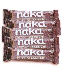 nakd cacao crunch 5 stk snackbarer