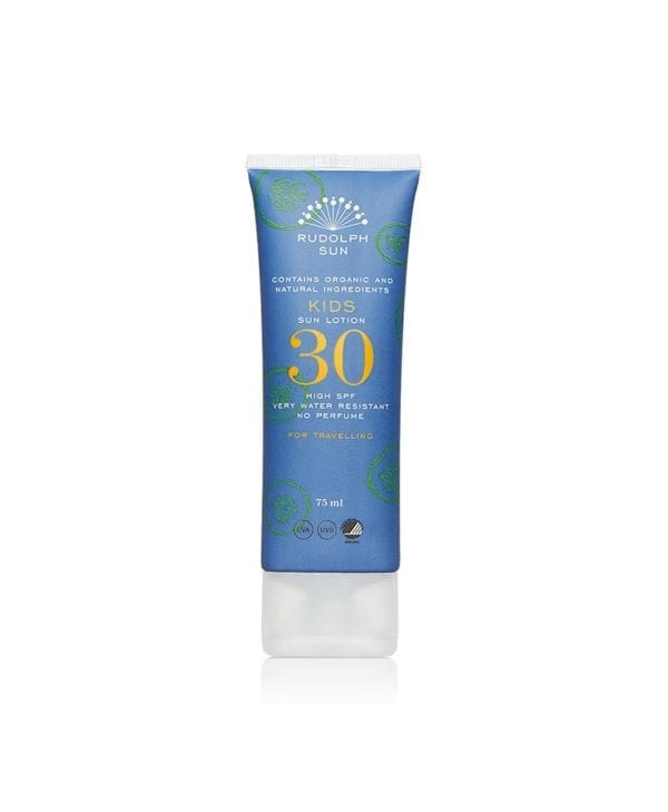 Rudolph Care børnesolcreme - SPF 30 - travel size 75 ml