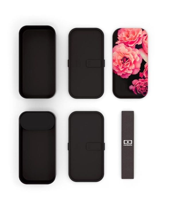 Monbento MB Original black flower madkasse