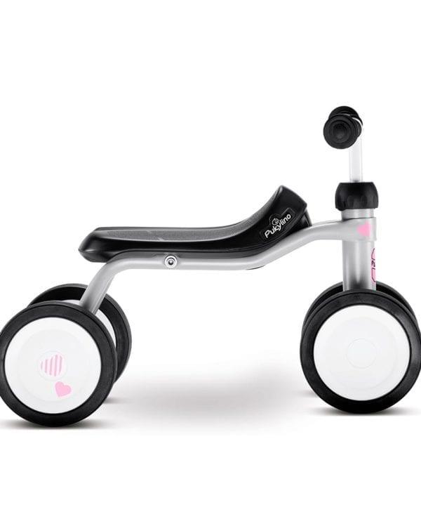 Pukylino grå begynder-cykel til børn