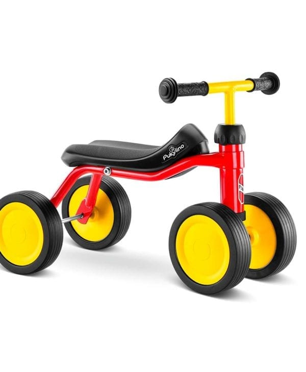 Pukylino rød begynder-cykel til børn