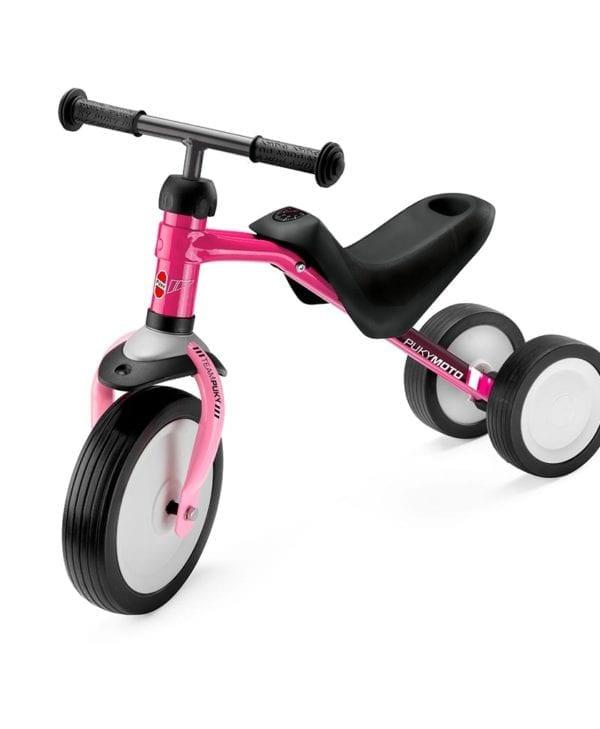 Pukymoto rose smart løbecykel til de mindste