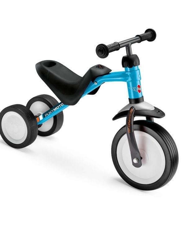 Pukymoto smart løbecykel til de mindste blå