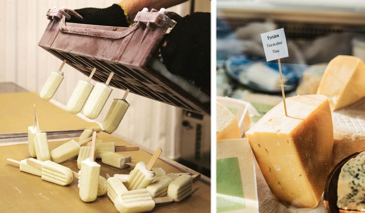 Smag på osteis til ostefestival